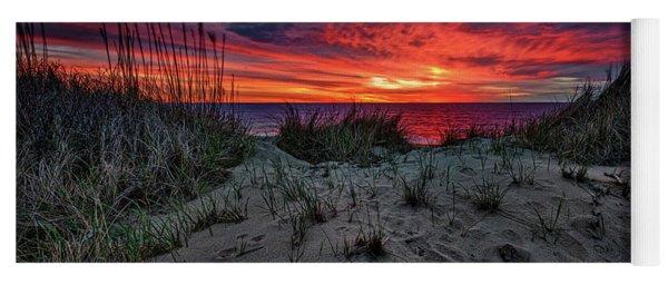 Cape Cod Sunrise Yoga Mat