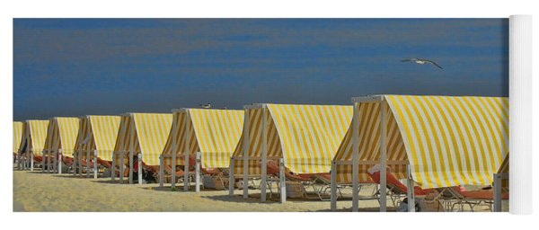 Cape May Cabanas 6 Yoga Mat