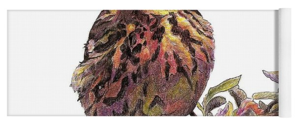 Cape May Warbler Yoga Mat