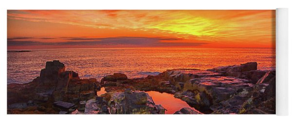Cape Neddick Sunrise Yoga Mat