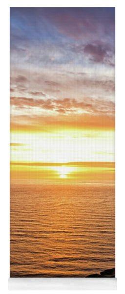 Cape Perpetua Sunset Yoga Mat