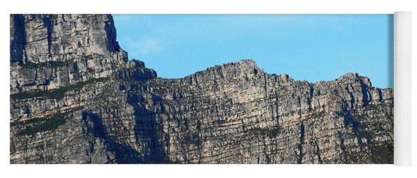 Cape Town Sunrise Over Table Mountain Yoga Mat