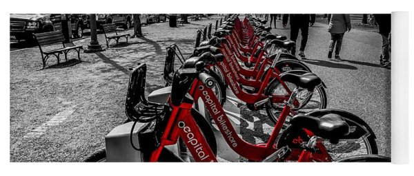 Capital Bikeshare Yoga Mat