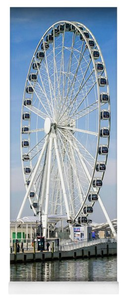 Capital Ferris Wheel Yoga Mat