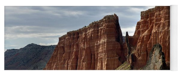 Capital Reef-cathedral Valley 9 Yoga Mat