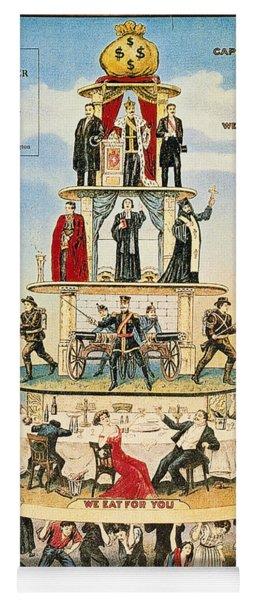 Capitalist Pyramid, 1911 Yoga Mat