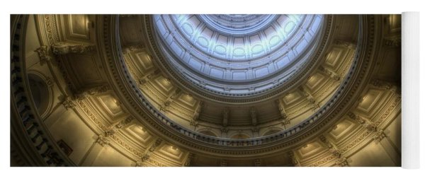 Capitol Dome Interior Yoga Mat
