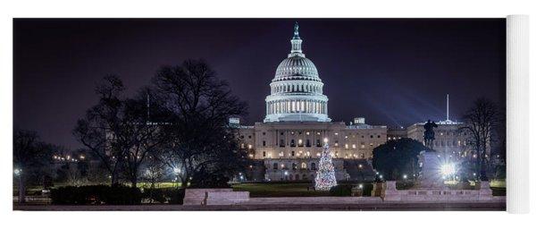 Capitol Reflects Yoga Mat