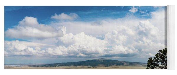 Capulin Volcano View New Mexico Yoga Mat