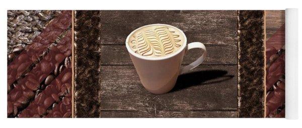 Caramel Macchiato - Coffee Art Yoga Mat
