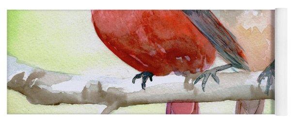 Cardinals Yoga Mat