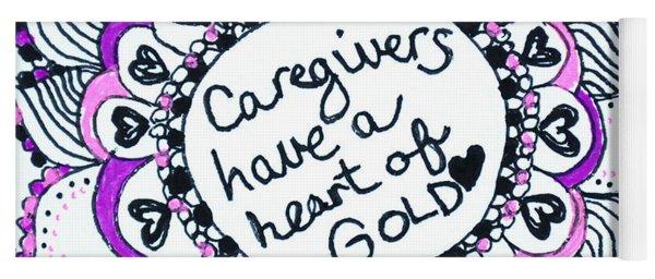 Caregiver Sun Yoga Mat