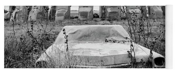 Carhenge Nebraska 22 Yoga Mat