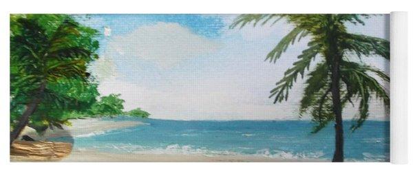 Caribbean Beach Yoga Mat