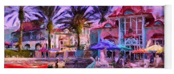 Caribbean Beach Resort Yoga Mat
