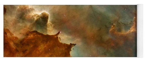 Carina Nebula Details -  Great Clouds Yoga Mat