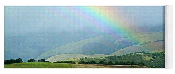 Carmel Valley Rainbow Yoga Mat