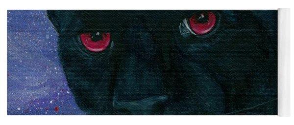 Carmilla - Black Panther Vampire Yoga Mat