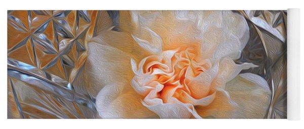 Carnation In Cut Glass 7 Yoga Mat