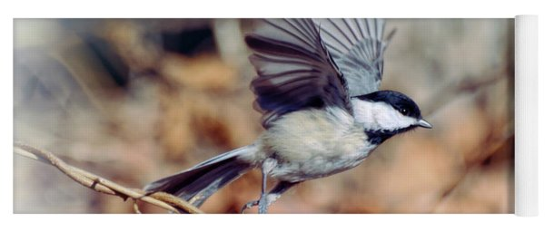 Carolina Chickadee - Come Fly With Me  Yoga Mat
