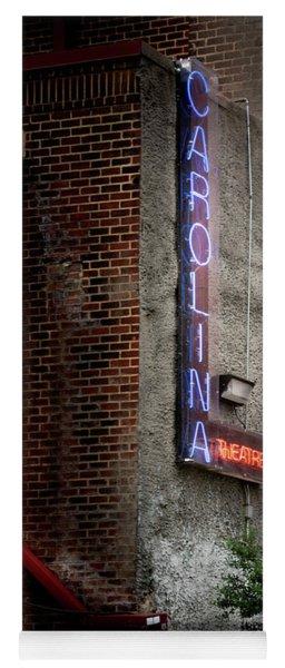 Carolina Theatre Neon Yoga Mat