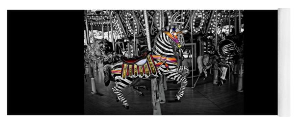 Carousel Zebra Series 2222 Yoga Mat