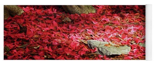 Carpet Of Petals I Yoga Mat