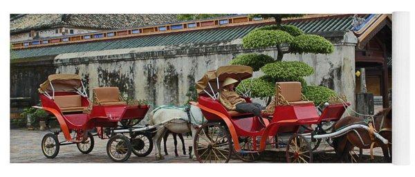 Carriage Rides Yoga Mat