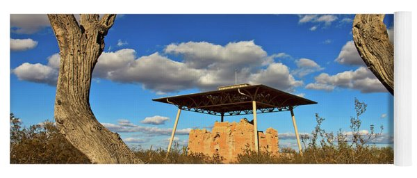 Casa Grande Ruins National Monument Yoga Mat