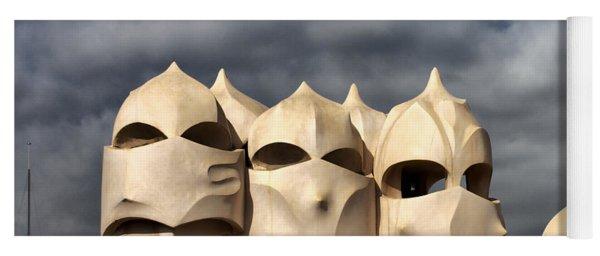 Casa Mila Masks Yoga Mat
