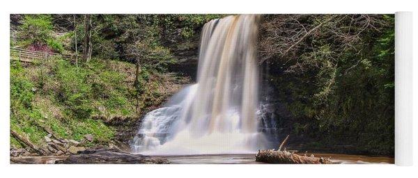 Cascade Falls In Spring Yoga Mat