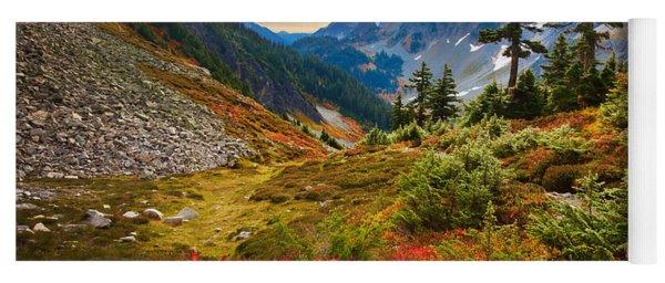 Cascade Pass Fall Yoga Mat
