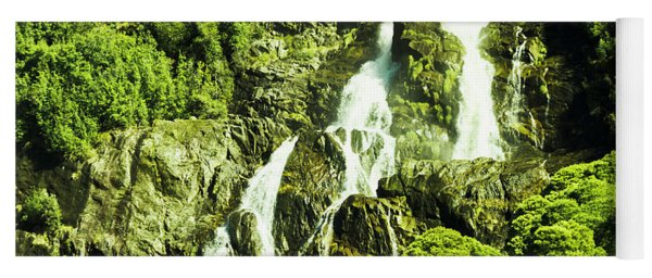 Cascading Falls Yoga Mat