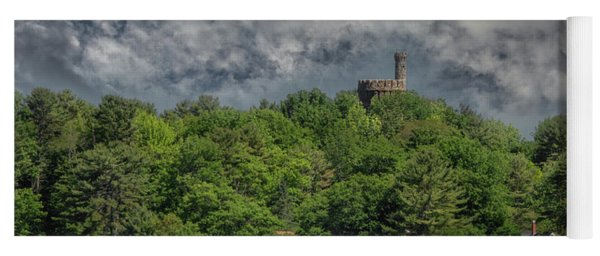 Yoga Mat featuring the photograph Casco Castle 5733 by Guy Whiteley