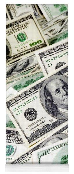 Cash Money Yoga Mat