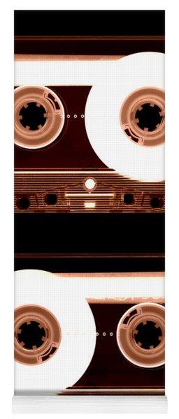 Cassette Tapes Yoga Mat
