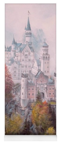 Castle In The Clouds Yoga Mat