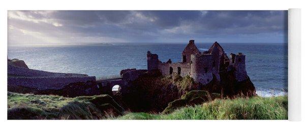 Castle On The Coast, Dunluce Castle Yoga Mat