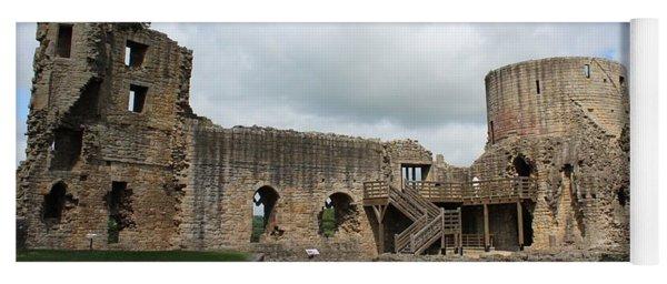 Castle Ruins Yoga Mat