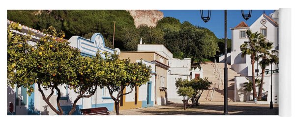 Yoga Mat featuring the photograph Castro Marim - Algarve, Portugal by Barry O Carroll