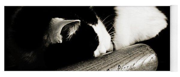 Cat And Bat Yoga Mat
