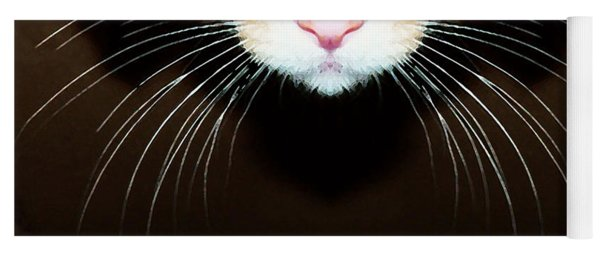 Cat Art - Super Whiskers Yoga Mat