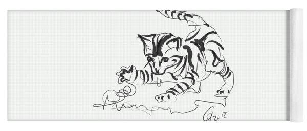 Cat- Cute Kitty  Yoga Mat