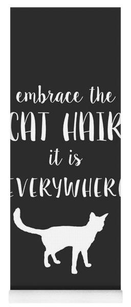 Cat Hair Yoga Mat