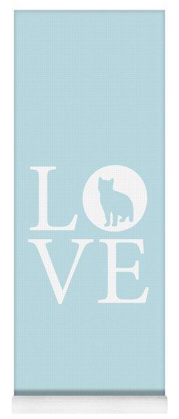 Cat Love Yoga Mat