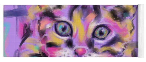 Cat Wild Thing Yoga Mat