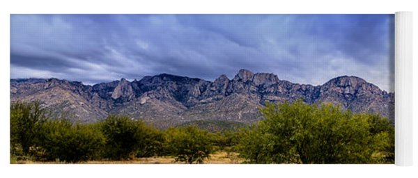 Catalina Mountains P1 Yoga Mat