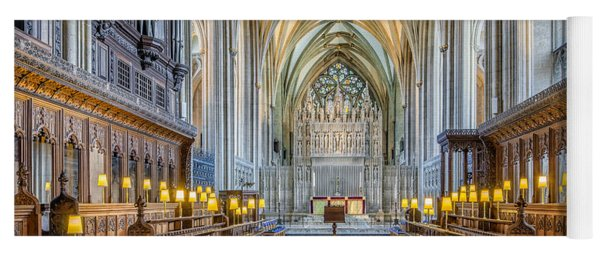 Cathedral Aisle Yoga Mat