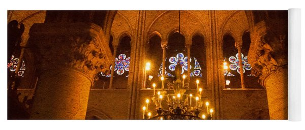 Cathedral Chandelier Yoga Mat