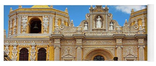 Cathedral In Antigua, Guatemala Yoga Mat